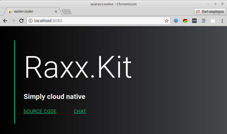 Building a distributed chatroom with Raxx Kit